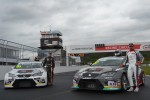 Náhledové foto k novince: Final weekend of the ETCC takes place in Most, Petr Fulín will try to defend his lead on home soil